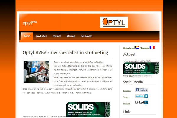 Optyl Industriele stofmeting